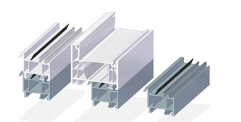 Bankanschlußprofil 30 mm Neubau