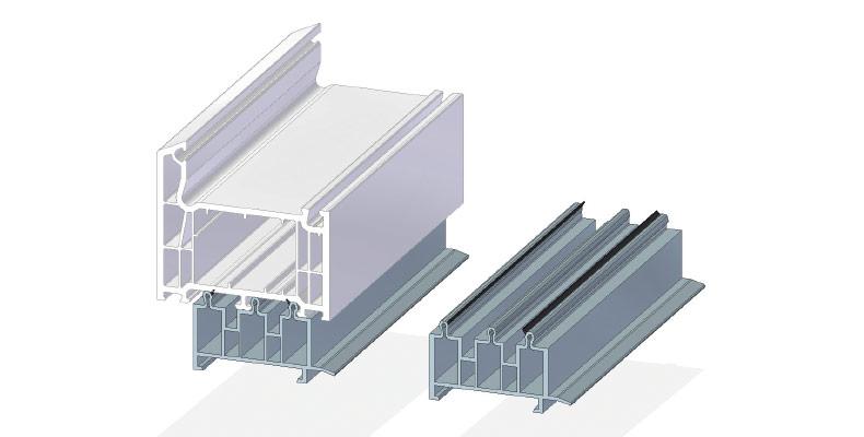 Fensterbankanschlußprofil 30 mm